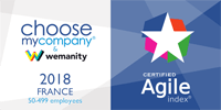 Choosemycompany - Agile index - 2018